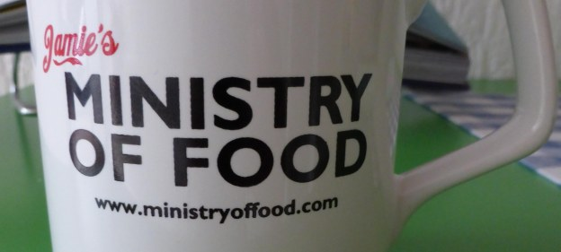 Jamie's Ministry of Food mug